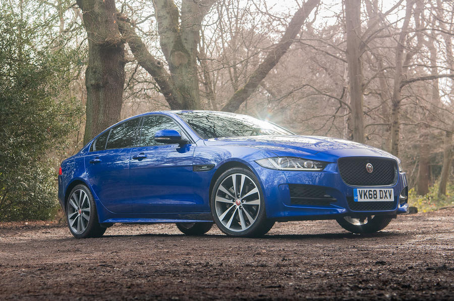 Jaguar XE 2019 long-term review - static