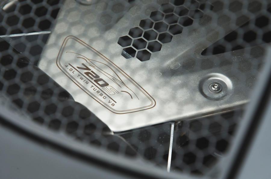 McLaren 720S 2019 long-term review - engine bay