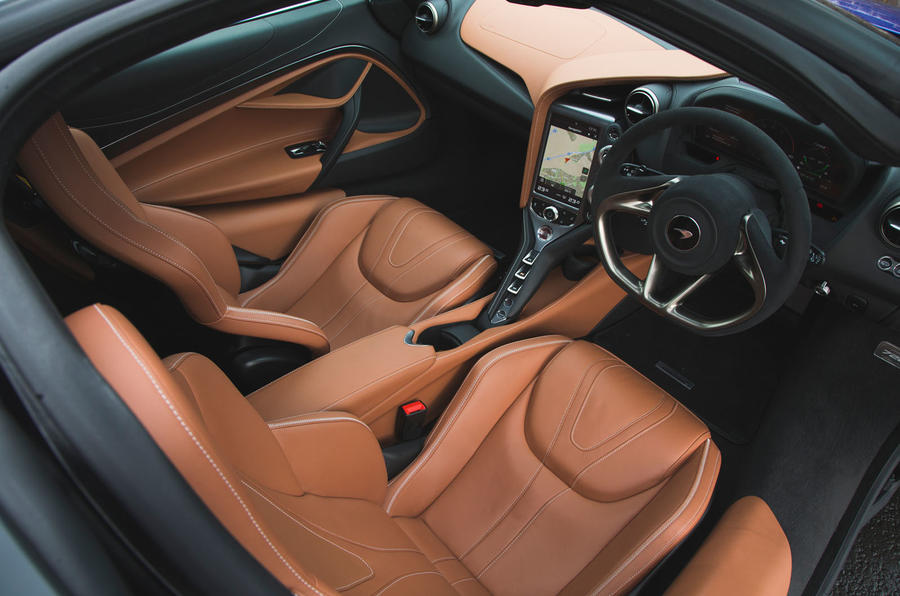 McLaren 720S 2019 long-term review - cabin