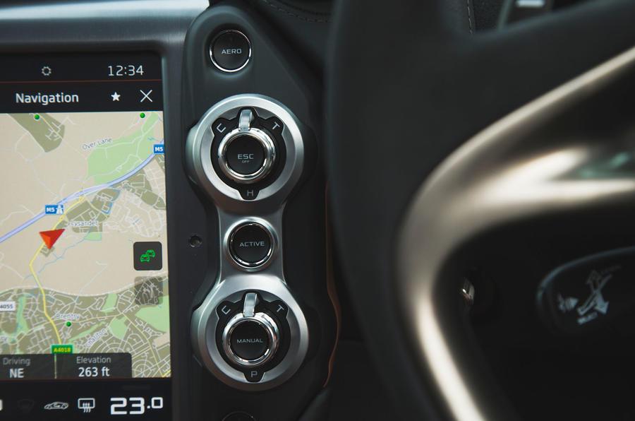 McLaren 720S 2019 long-term review - drive modes