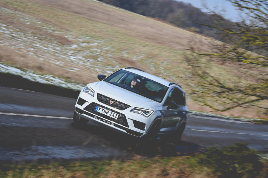 Cupra Ateca 2019 long-term review - on the road front