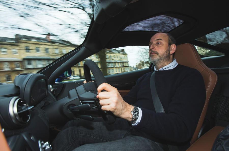 McLaren 720S 2019 long-term review - Andrew Frankel driving