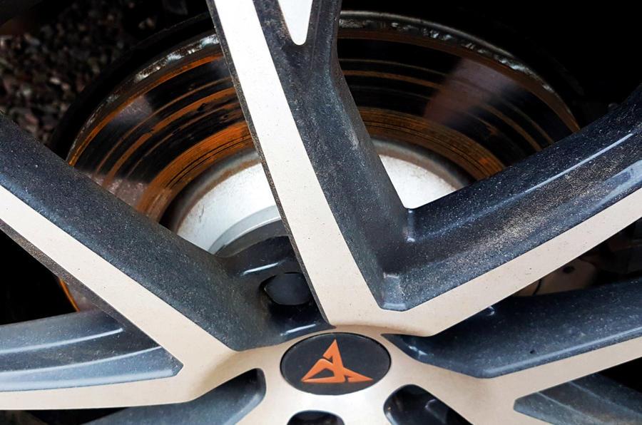 Cupra Ateca 2019 long-term review - brake dust