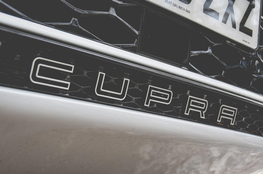 Cupra Ateca 2019 long-term review - front grille