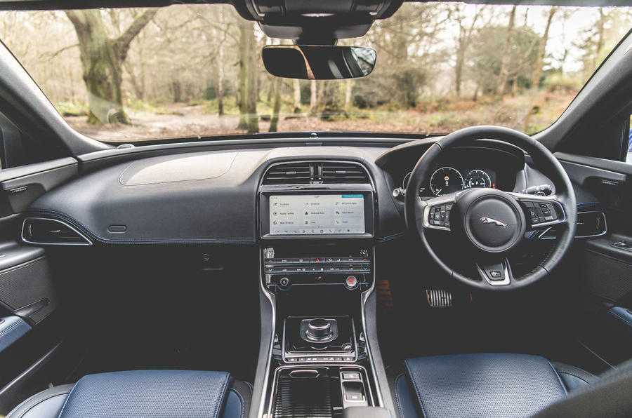 Jaguar XE 2019 long-term review - cabin
