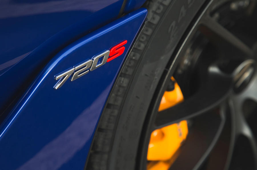 McLaren 720S 2019 long-term review - wing badge