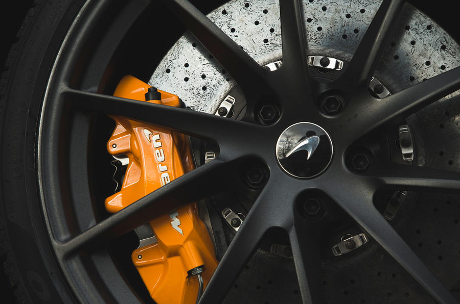McLaren 720S 2019 long-term review - brake calipers