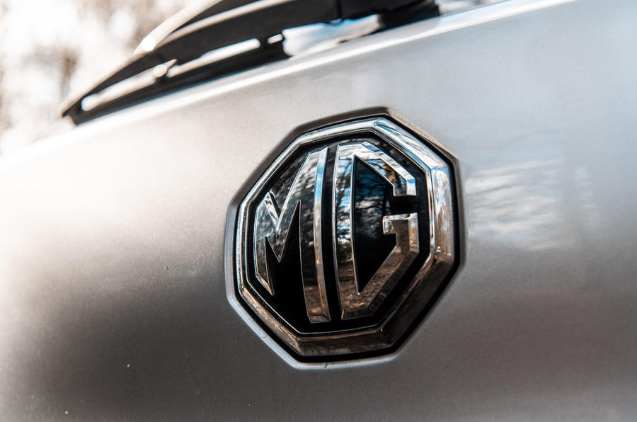 MG ZS 2019 long-term review - rear badge