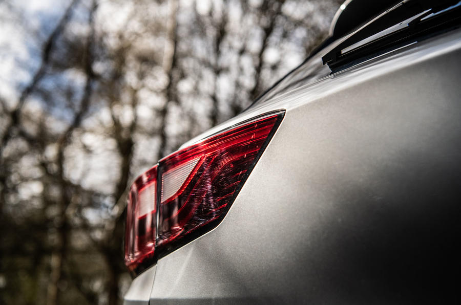 MG ZS 2019 long-term review - rear lights