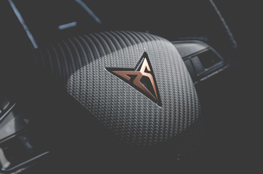 Cupra Ateca 2019 long-term review - steering wheel
