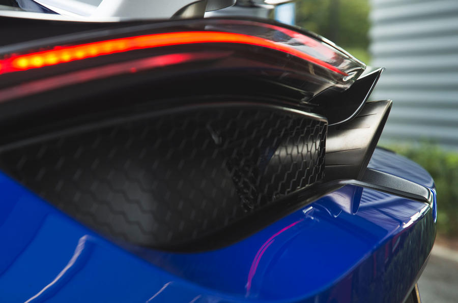 McLaren 720S 2019 long-term review - rear lights