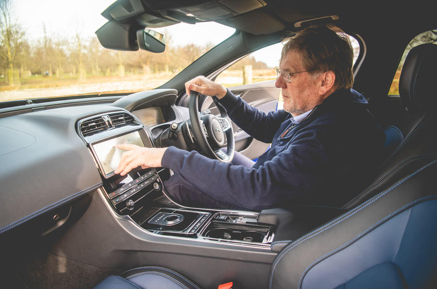 Jaguar XE 2019 long-term review - setup