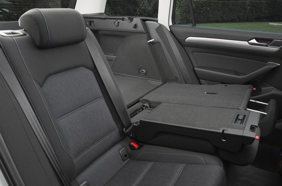 Volkswagen Passat GTE seat flexibility