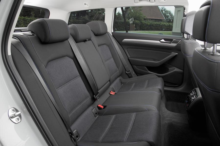 Volkswagen Passat GTE rear seats