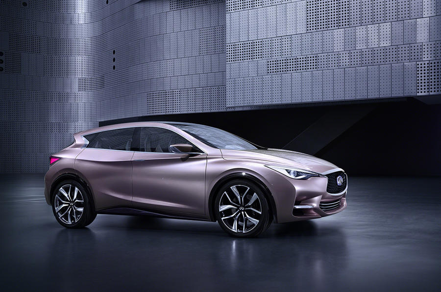 Infiniti plots new four-door saloon