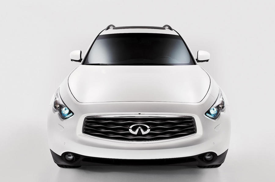 Infiniti plans three new models