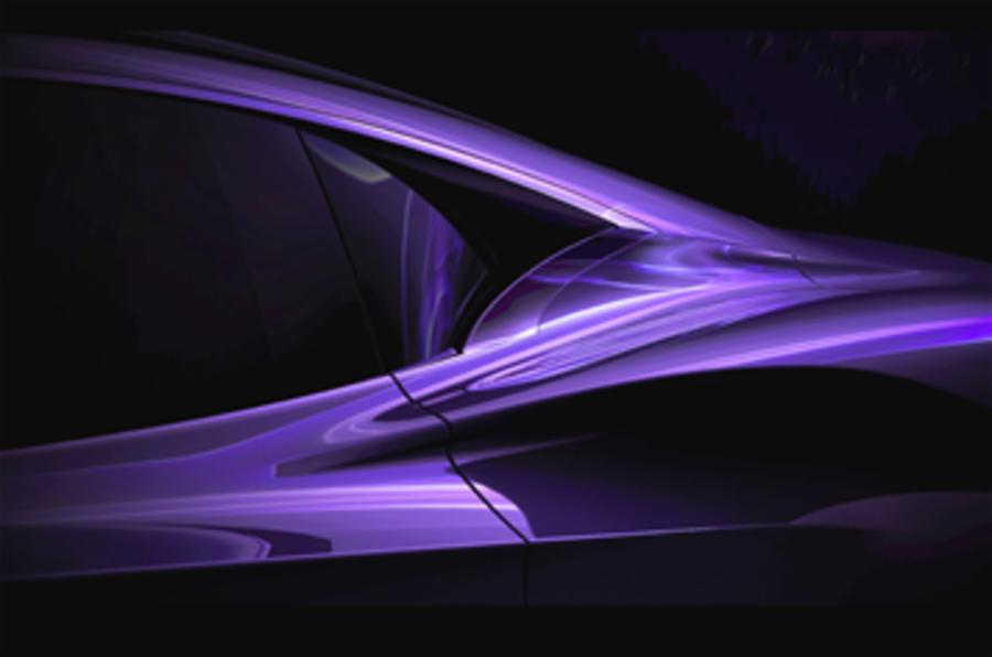 Infiniti EV sports concept for Geneva
