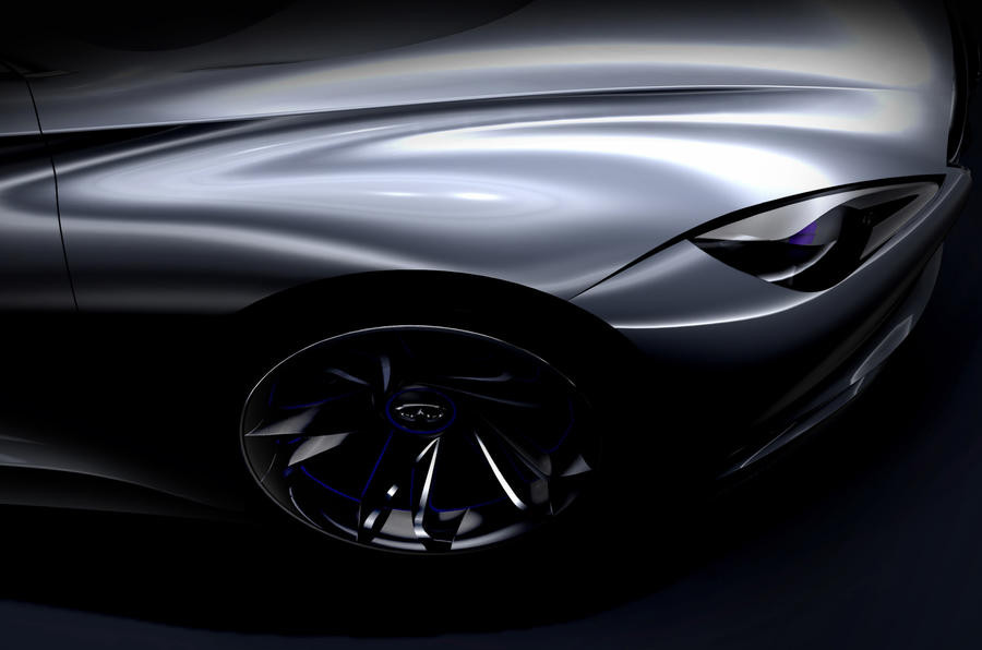 Infiniti shows EV sports car styling