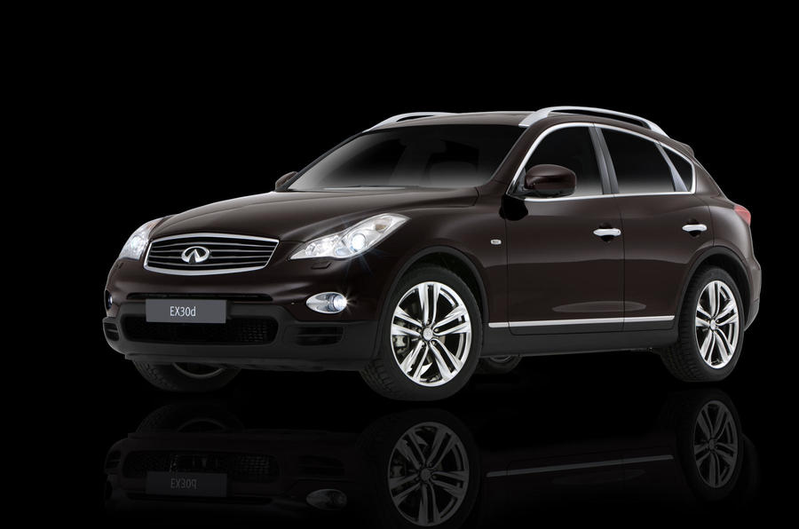 Infiniti's special EX30d with perks