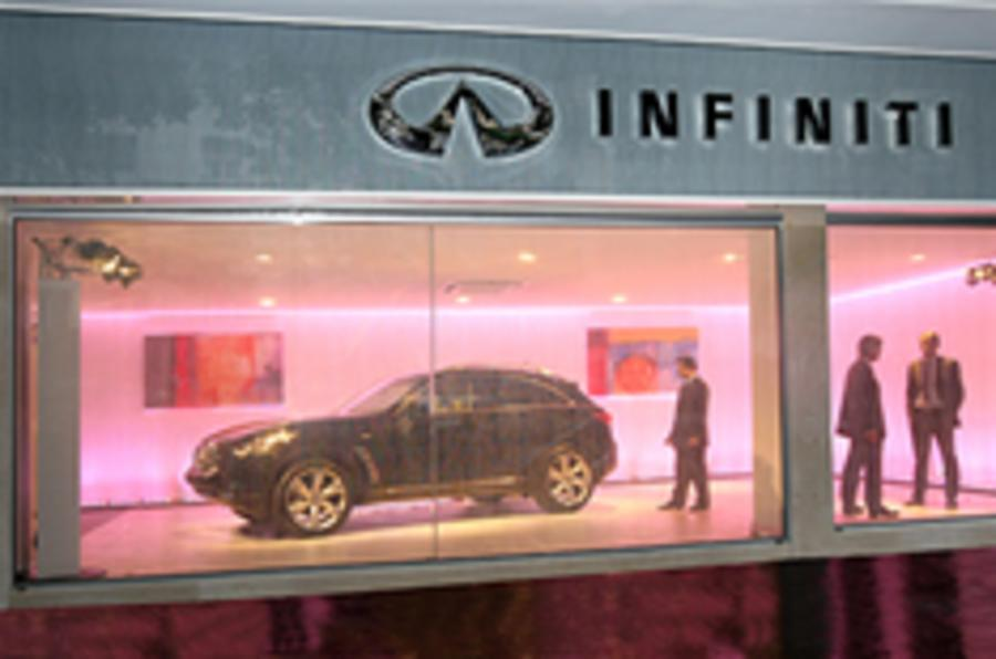 Infiniti UK launch on course