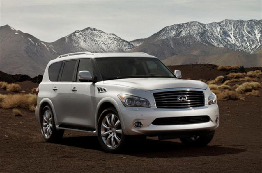 New York show: Infiniti QX56