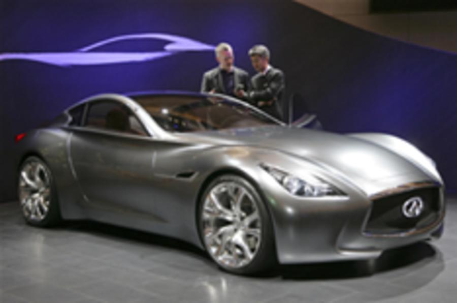 Infiniti shows concept hybrid GT