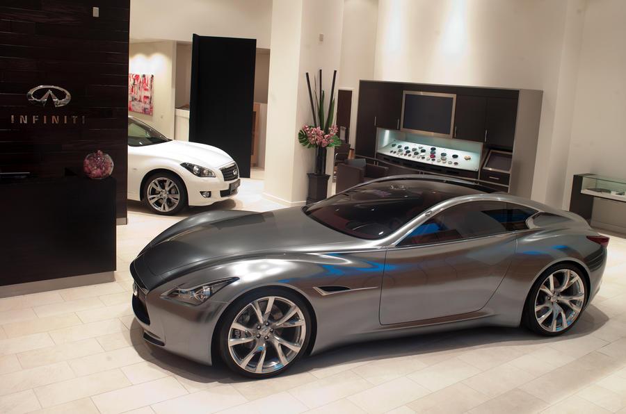 Geneva motor show: Baby Infiniti