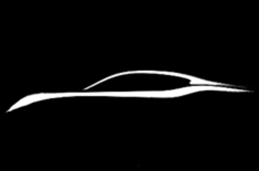 Infiniti teases new luxury saloon