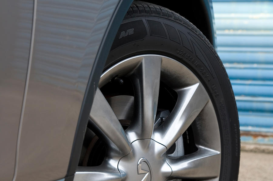 Infiniti EX alloy wheels