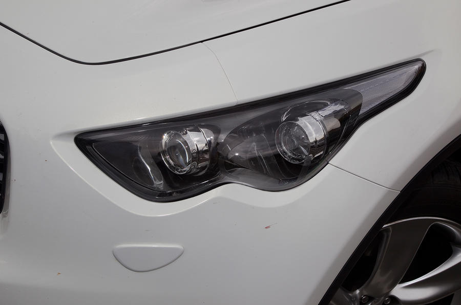 Infiniti FX headlights