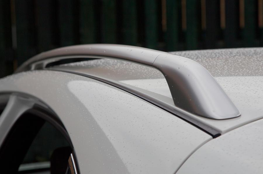 Infiniti FX roof rails