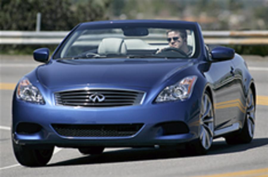 Infiniti G37 prices announced