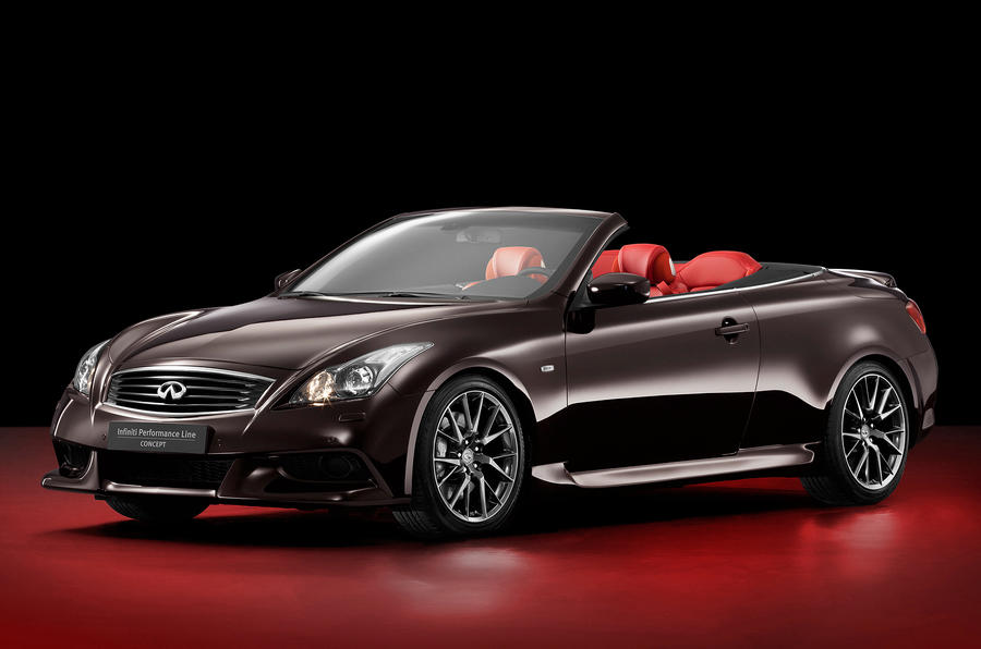 New Infiniti G revealed 'in-house'