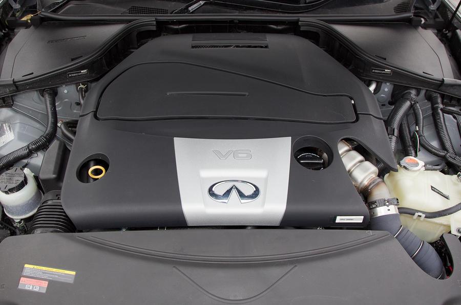 Infiniti M 3.0-litre V6 diesel engine