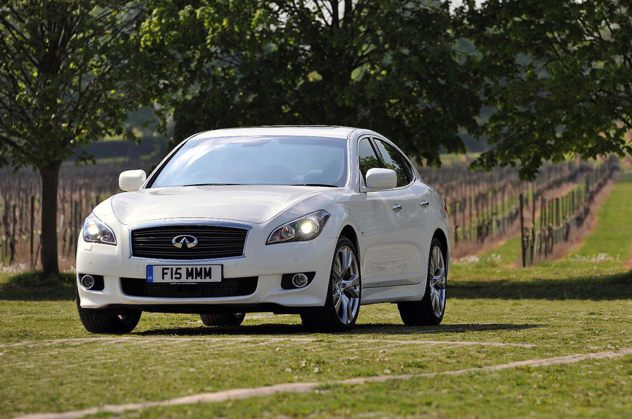 Infiniti M30d from £36,750
