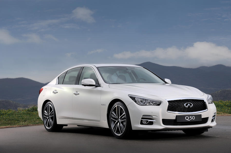Infiniti Q50 pricing announced