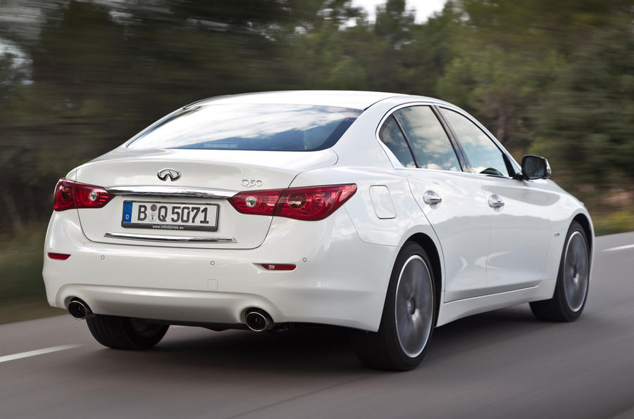 2013 Infiniti Q50 2.2d Sport first drive review