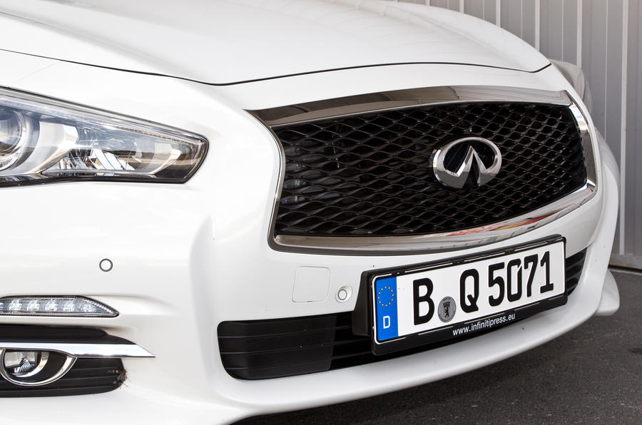 Infiniti Q50 front grille
