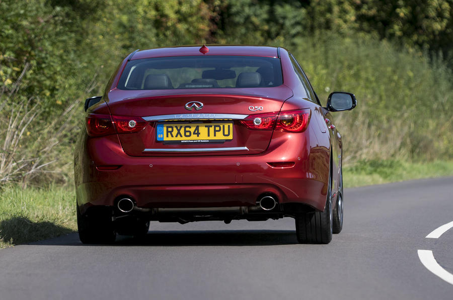 Infiniti Q50 2.0t Sport first drive review