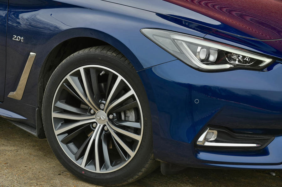 19in Infiniti Q60 alloy wheels