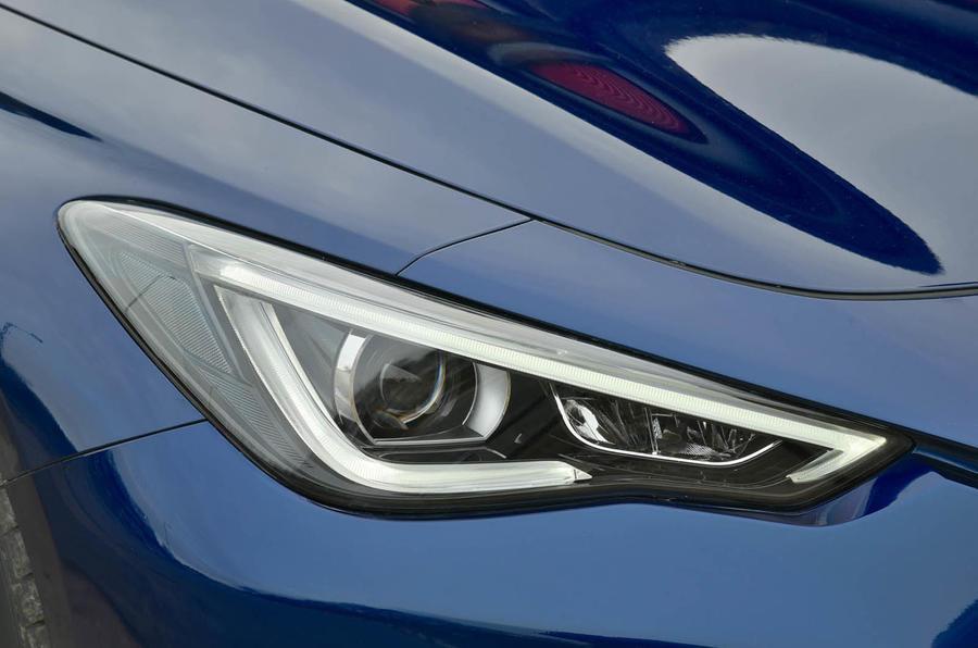 Infiniti Q60 LED headlights
