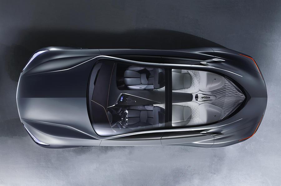 Infiniti reveals range-topping Q80 Inspiration concept