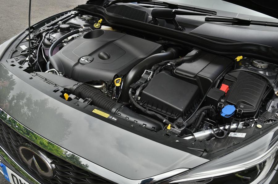 Infiniti QX30 diesel engine