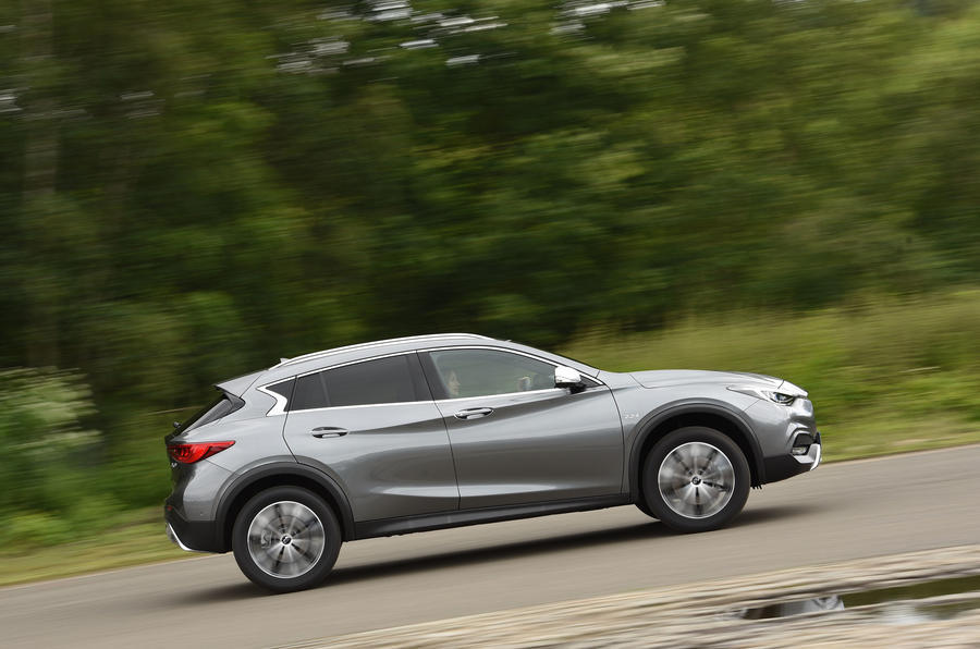 Infiniti QX30 side profile
