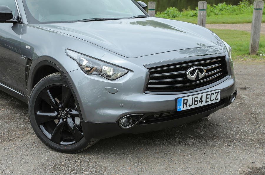 Infiniti QX70 front end