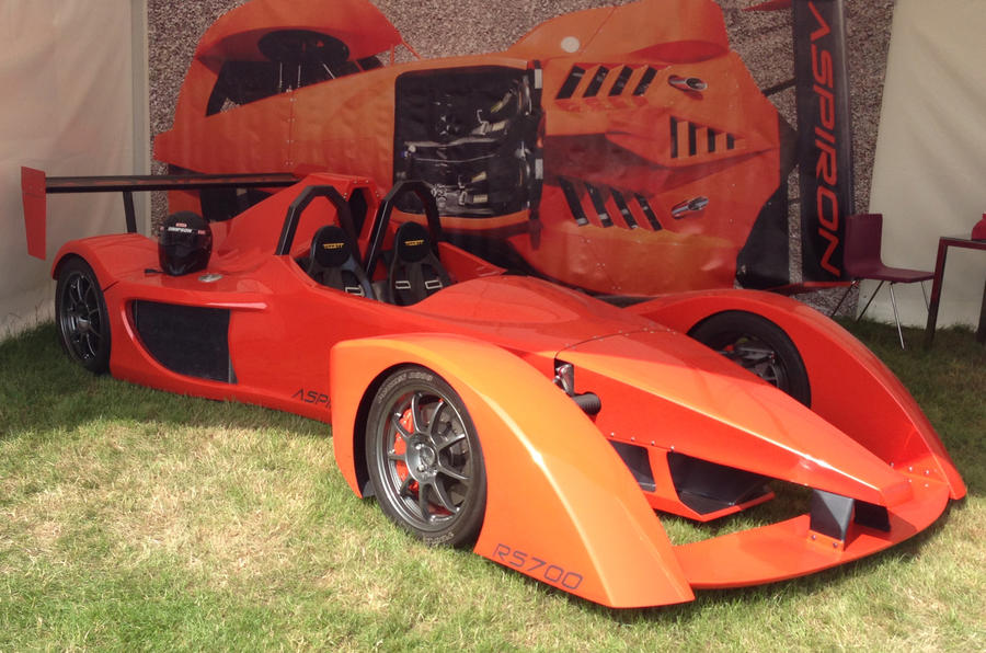 Innotech Aspiron revealed at Goodwood