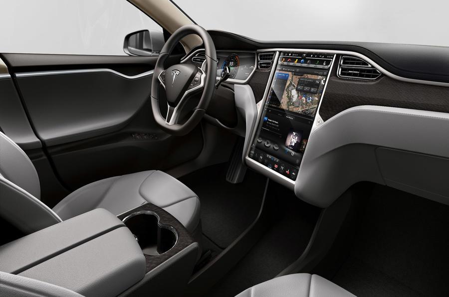Tesla Model S P85D interior