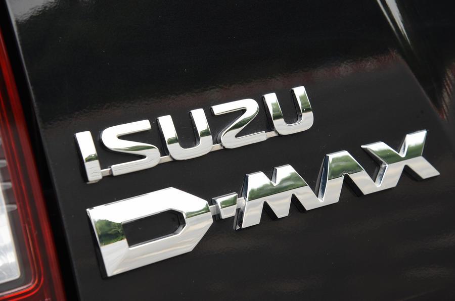 Isuzu D-Max badging