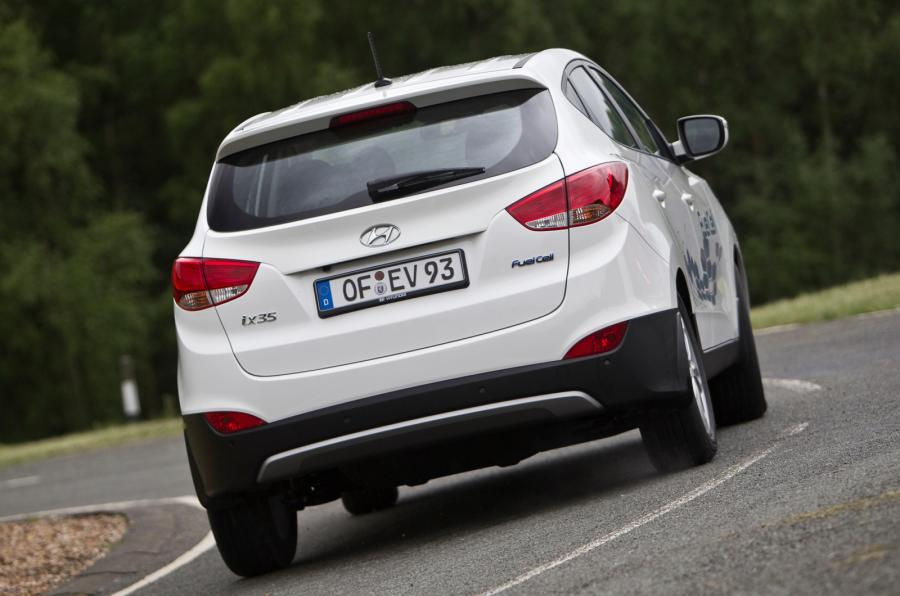 Hyundai ix35 Fuel Cell rear