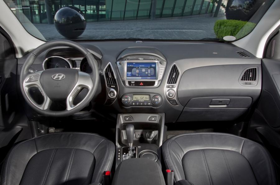 Hyundai ix35 Fuel Cell dashboard